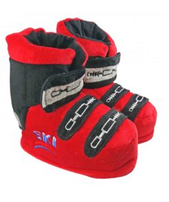 Chaussons Chaussures de Ski Rouge