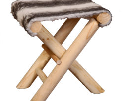 tabouret tricot gris gm la savoie en direct. Black Bedroom Furniture Sets. Home Design Ideas