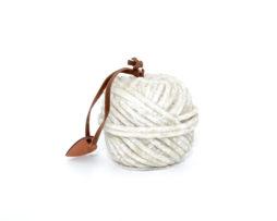 bougie-pelote-laine-grise
