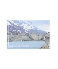 Magnet de la vidange du barrage de Tignes.