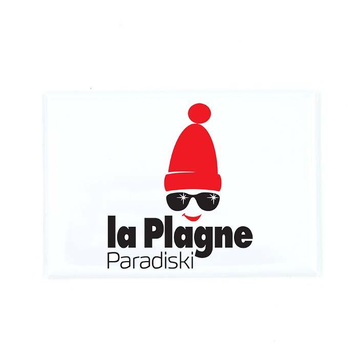 magnet logo la plagne la savoie en direct