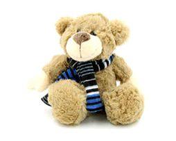 peluche-ours-echarpe-marron-souvenir